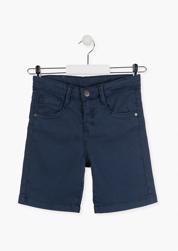 Roll-up hem shorts.