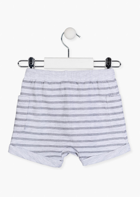 Organic cotton shorts.