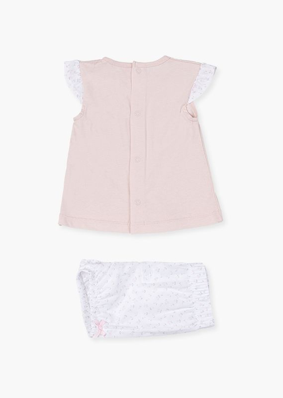 Cherry shorts & tee set.