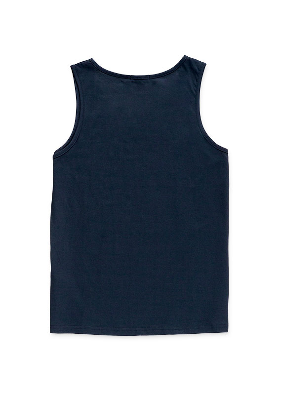 Cotton tank from the essential collection for man