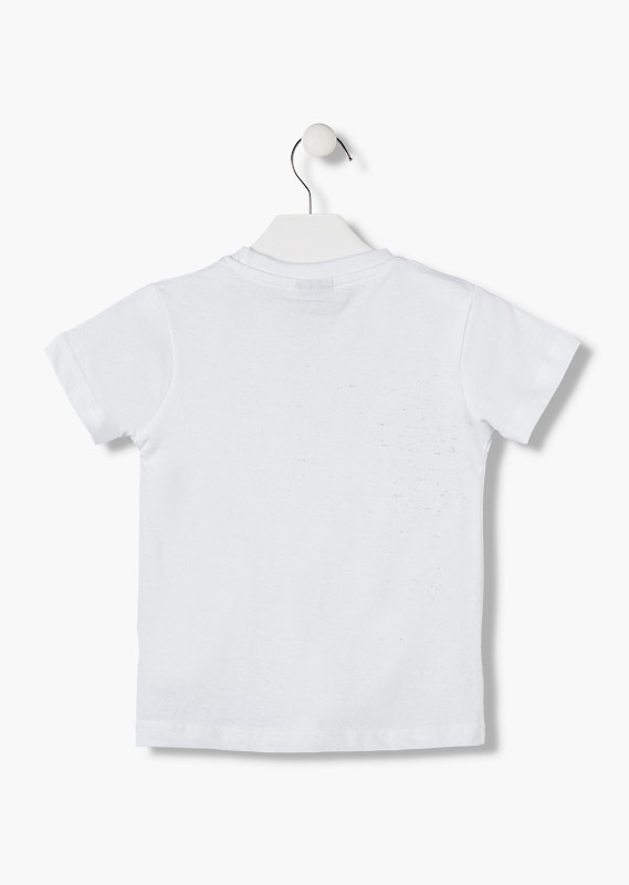 Essential collection short-sleeved t-shirt in jersey knit for boy