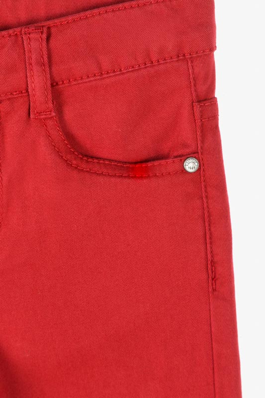 Twill skinny trousers from our range of wardrobe essentials for boy