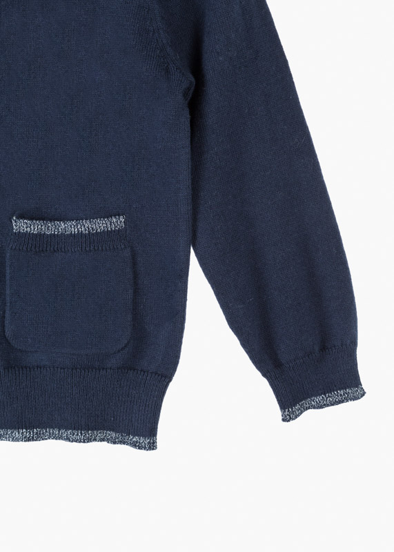 Wardrobe foundation knit cardigan.