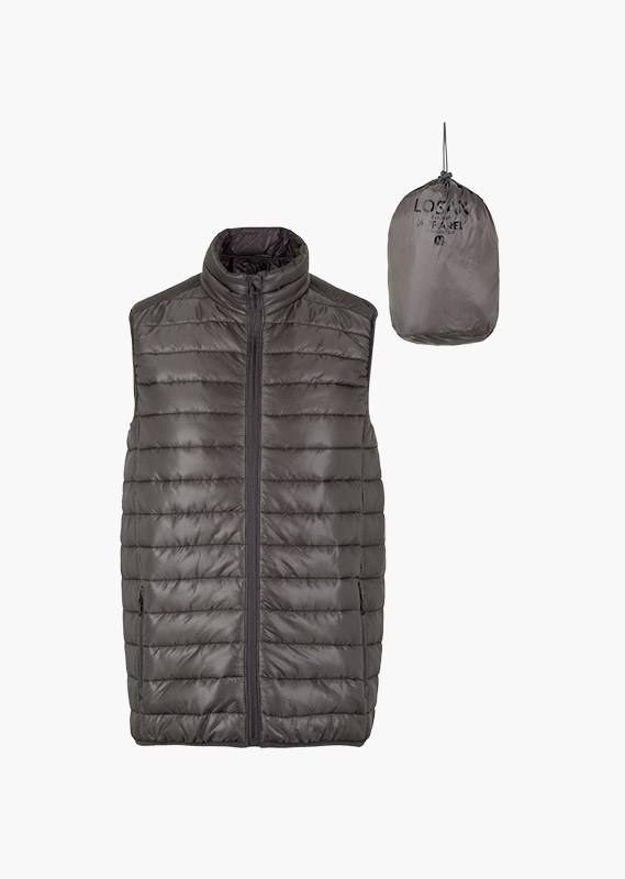 Essential collection lightweight vest for man